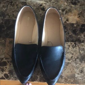 Express Faux Leather Loafers